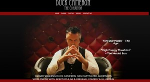 Duck Cameron Magician - Award Winning Duck Cameron