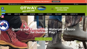 Otway Footwear - (Ecommerce Solution)