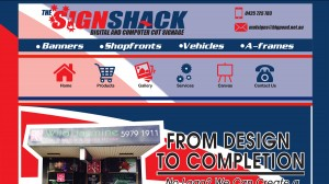 The Sign Shack, Seaford (Ecommerce Solution)